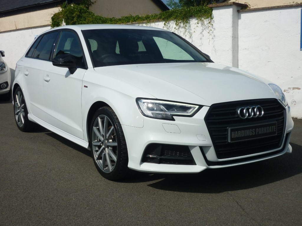 used Audi A3 SPORTBACK TFSI BLACK EDITION NAV [VIRTUAL COCKPIT] 2 YEARS FREE SERVICING* used cars in wirral-cheshire