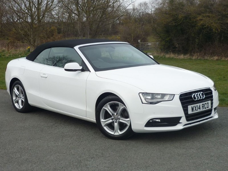 used Audi A5 TFSI SE AUTO BLACK LEATHER NAVIGATION in wirral-cheshire