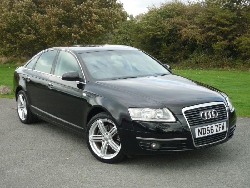 used Audi A6 TDI SE TDV in wirral-cheshire