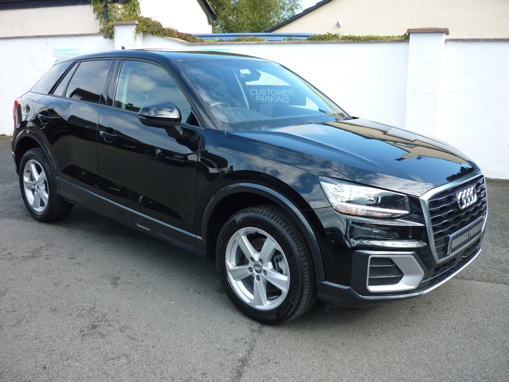 used Audi Q2 TFSI SPORT NAV BALANCE OF AUDI WARRANTY used cars in wirral-cheshire