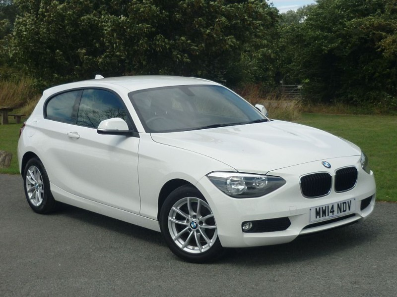 used BMW 114i SE [NAV] in wirral-cheshire