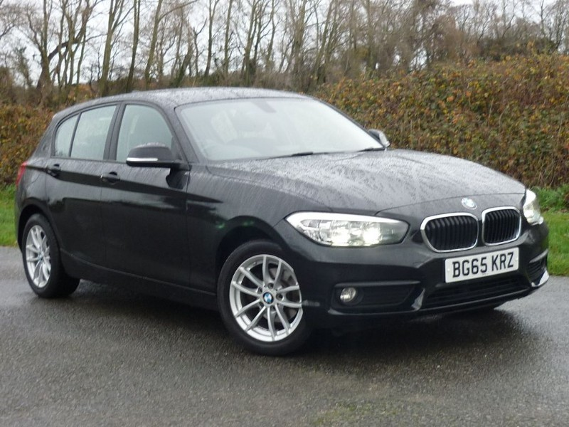 used BMW 116d SE SPORTS HATCH [NAV] in wirral-cheshire