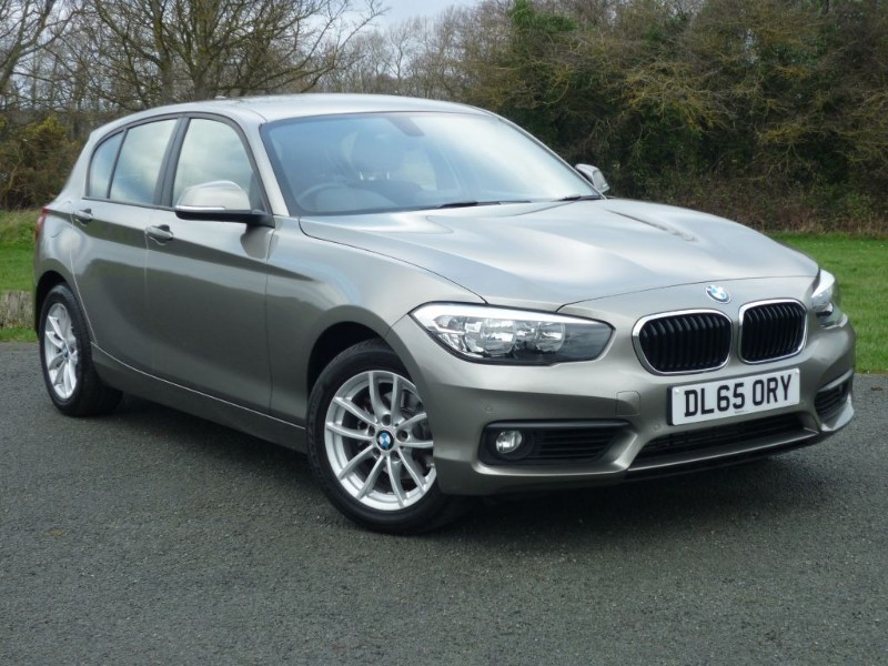 used BMW 118d SE [NAV] AUTO in wirral-cheshire