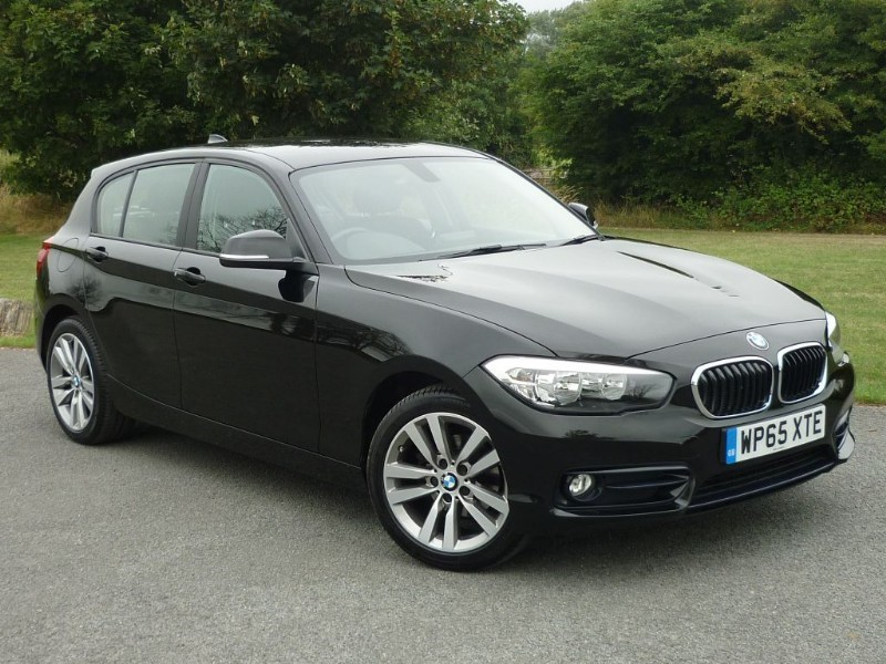 used BMW 118i SPORT [NAV] in wirral-cheshire