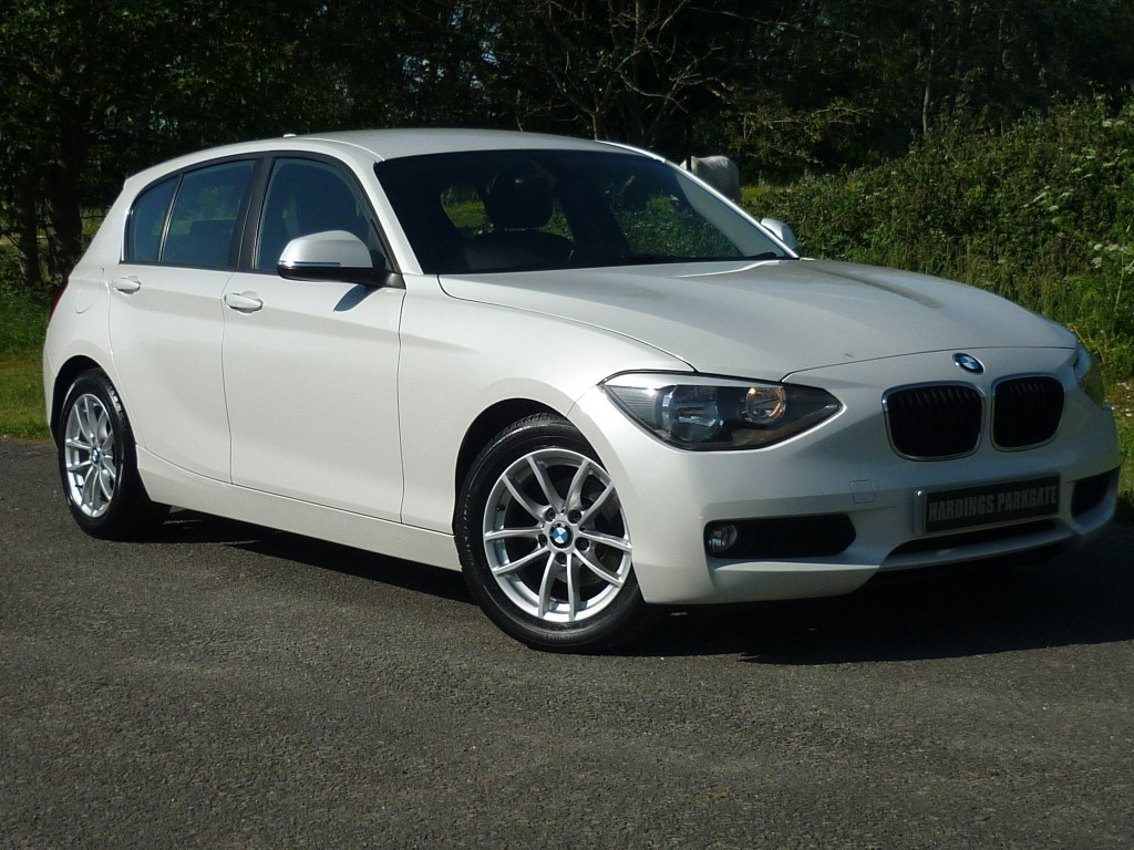 used BMW 116d EFFICIENTDYNAMICS in wirral-cheshire