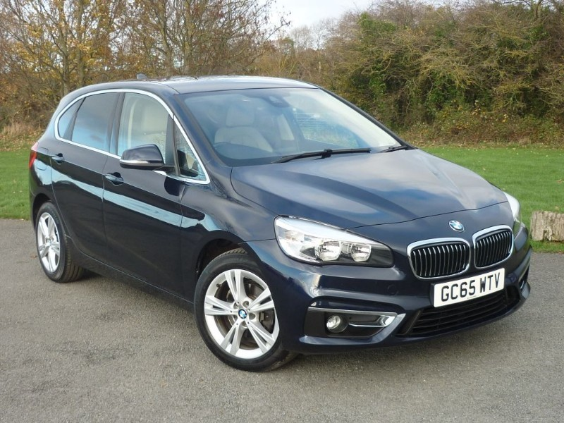 used BMW 218d LUXURY ACTIVE TOURER [NAV] in wirral-cheshire