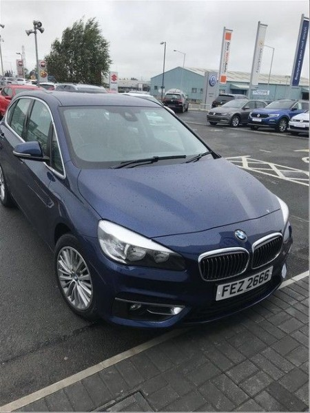 used BMW 216d LUXURY ACTIVE TOURER AUTO [NAV] in wirral-cheshire