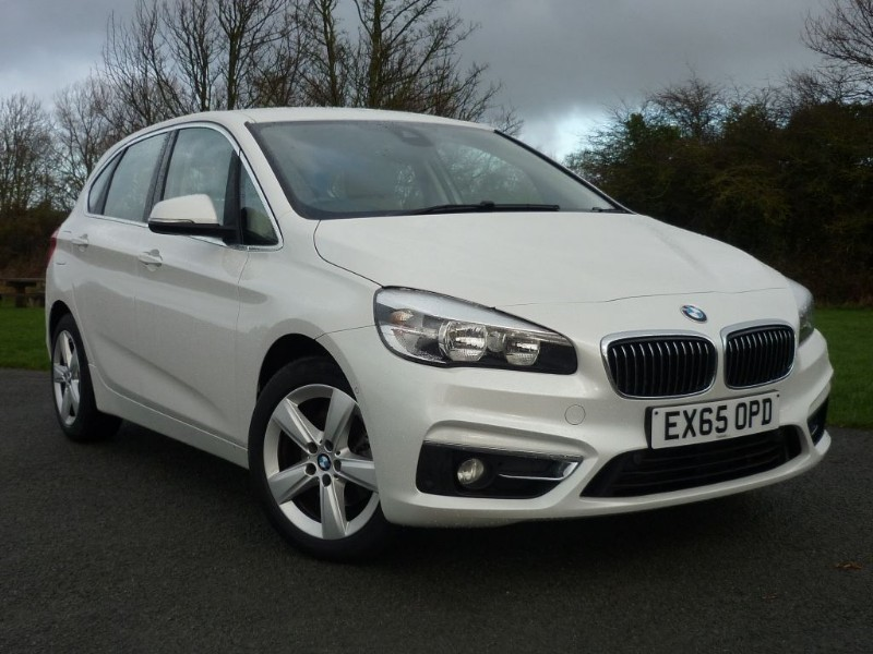 used BMW 218d LUXURY ACTIVE TOURER [NAV] AUTO in wirral-cheshire
