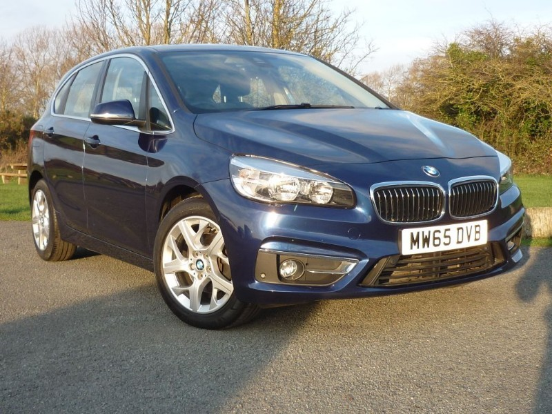 used BMW 218d LUXURY ACTIVE TOURER AUTO [NAV] in wirral-cheshire