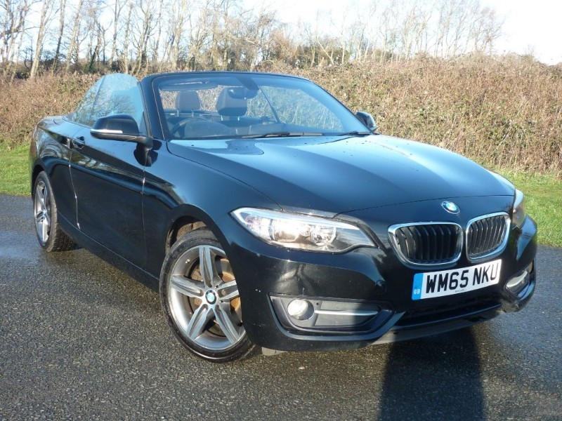 used BMW 220d SPORT [NAV] CONVERTIBLE in wirral-cheshire