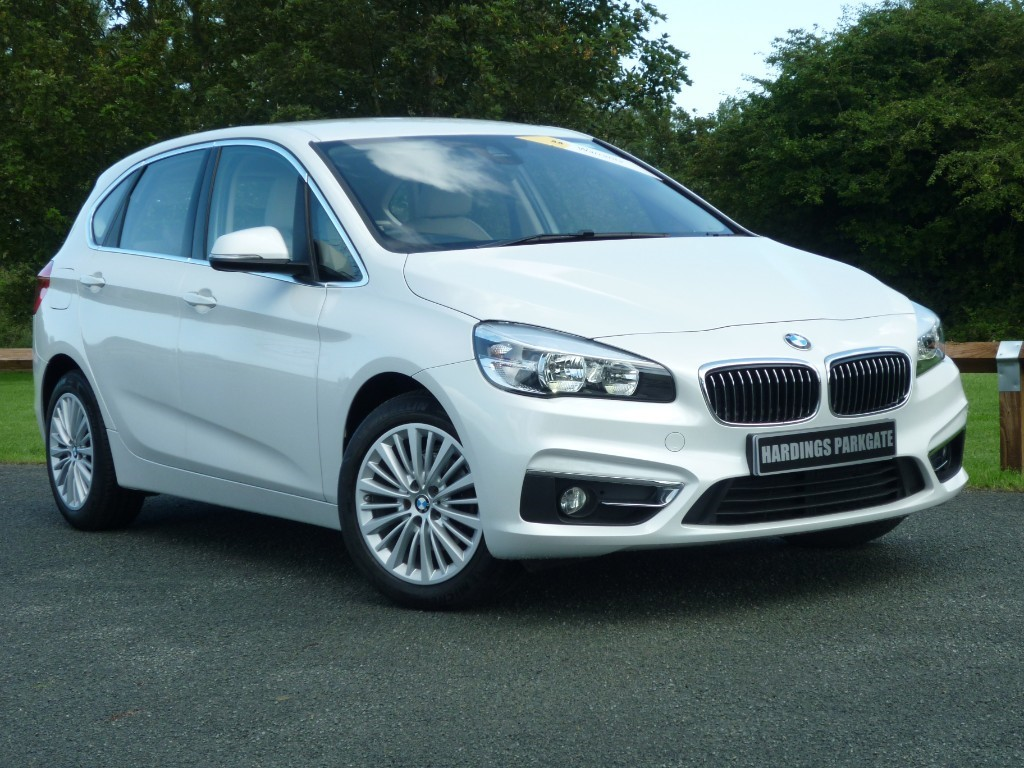 used BMW 216d LUXURY ACTIVE TOURER NAV in wirral-cheshire