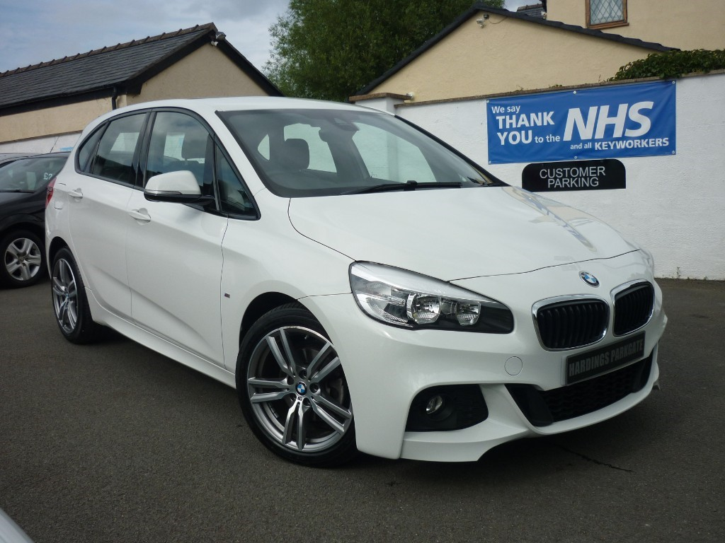 used BMW 218d M SPORT ACTIVE TOURER 2.0 AUTO + NAV + LEATHER used cars in wirral-cheshire