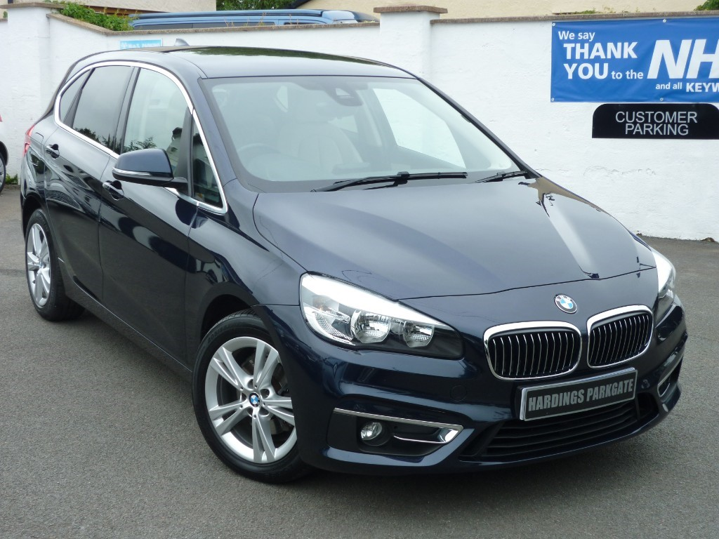 used BMW 218d LUXURY ACTIVE TOURER AUTO + AA WARRANTY used cars in wirral-cheshire