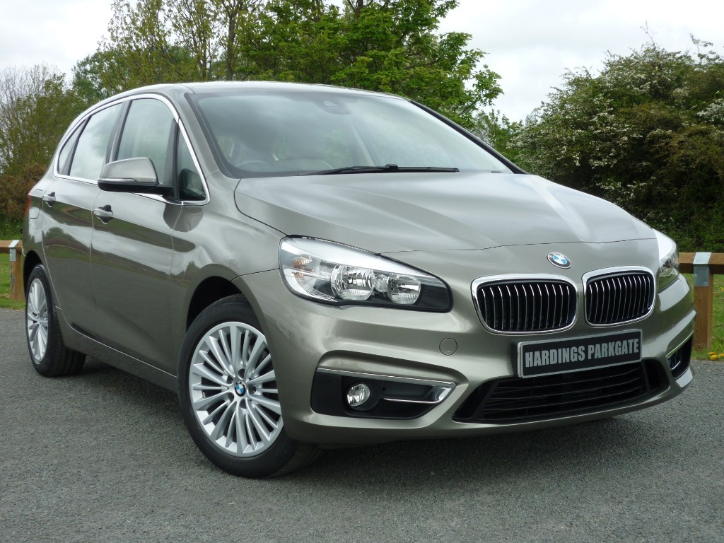used BMW 218d LUXURY ACTIVE TOURER in wirral-cheshire