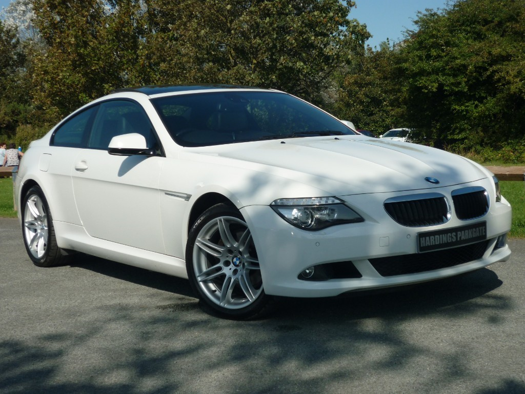 used BMW 635d SPORT NAV+LEATHER+PAN ROOF in wirral-cheshire