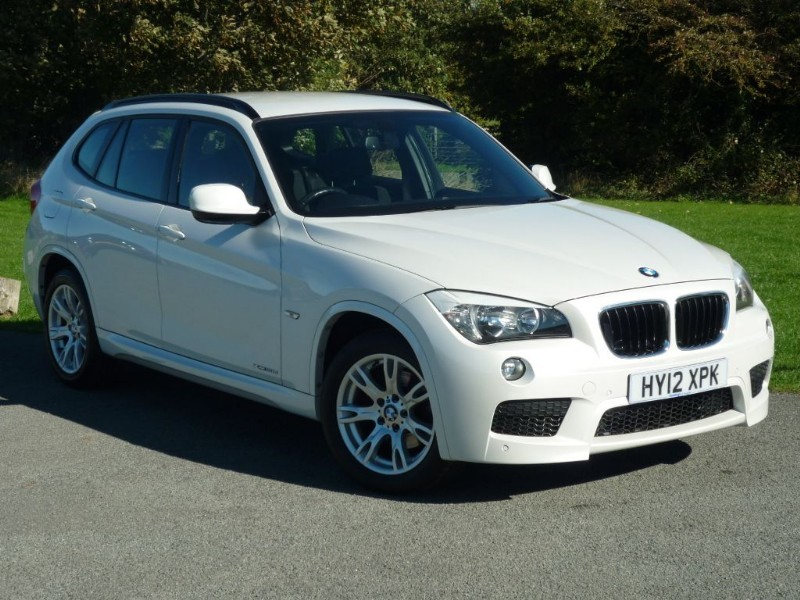 used BMW X1 XDRIVE20D M SPORT 4x4 in wirral-cheshire
