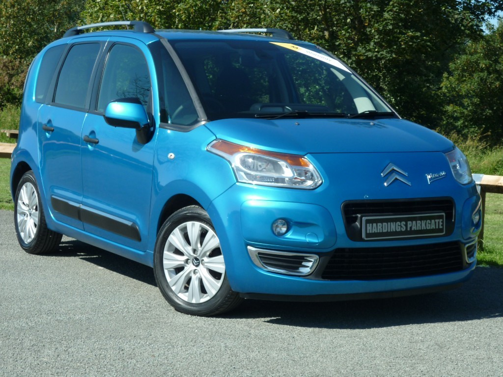 used Citroen C3 HDI EXCLUSIVE PICASSO in wirral-cheshire