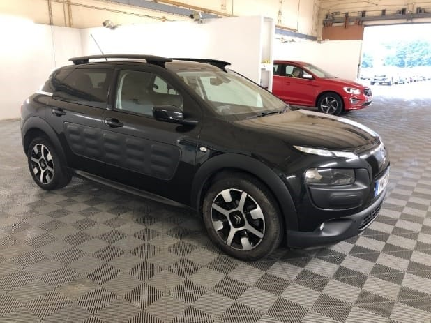 used Citroen C4 Cactus PURETECH FLAIR EDITION ETG S/S AUTO used cars in wirral-cheshire