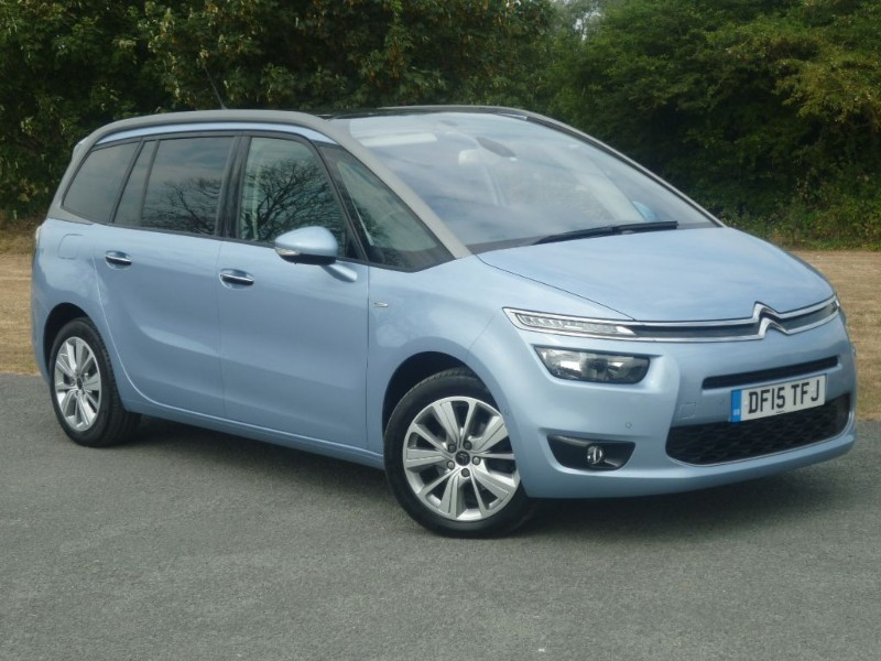 used Citroen C4 GRAND PICASSO BLUEHDI EXCLUSIVE + in wirral-cheshire