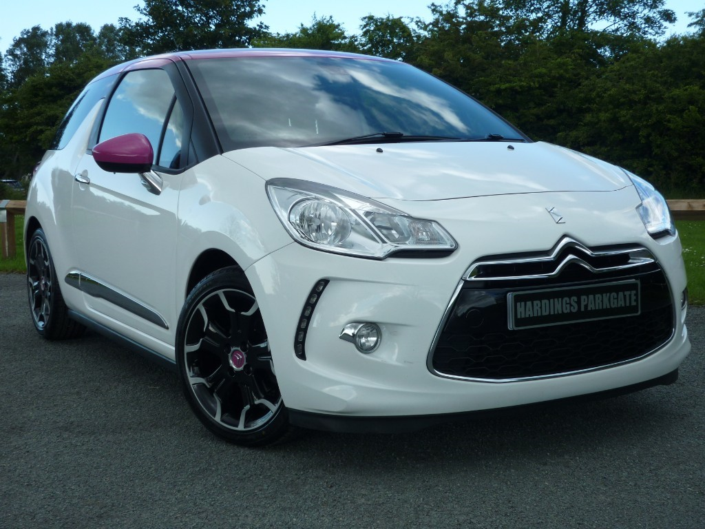 used Citroen DS3 E-HDI DSTYLE PLUS in wirral-cheshire