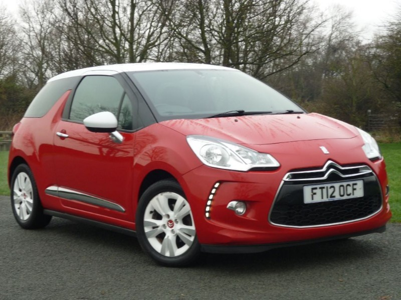 used Citroen DS3 DSTYLE in wirral-cheshire