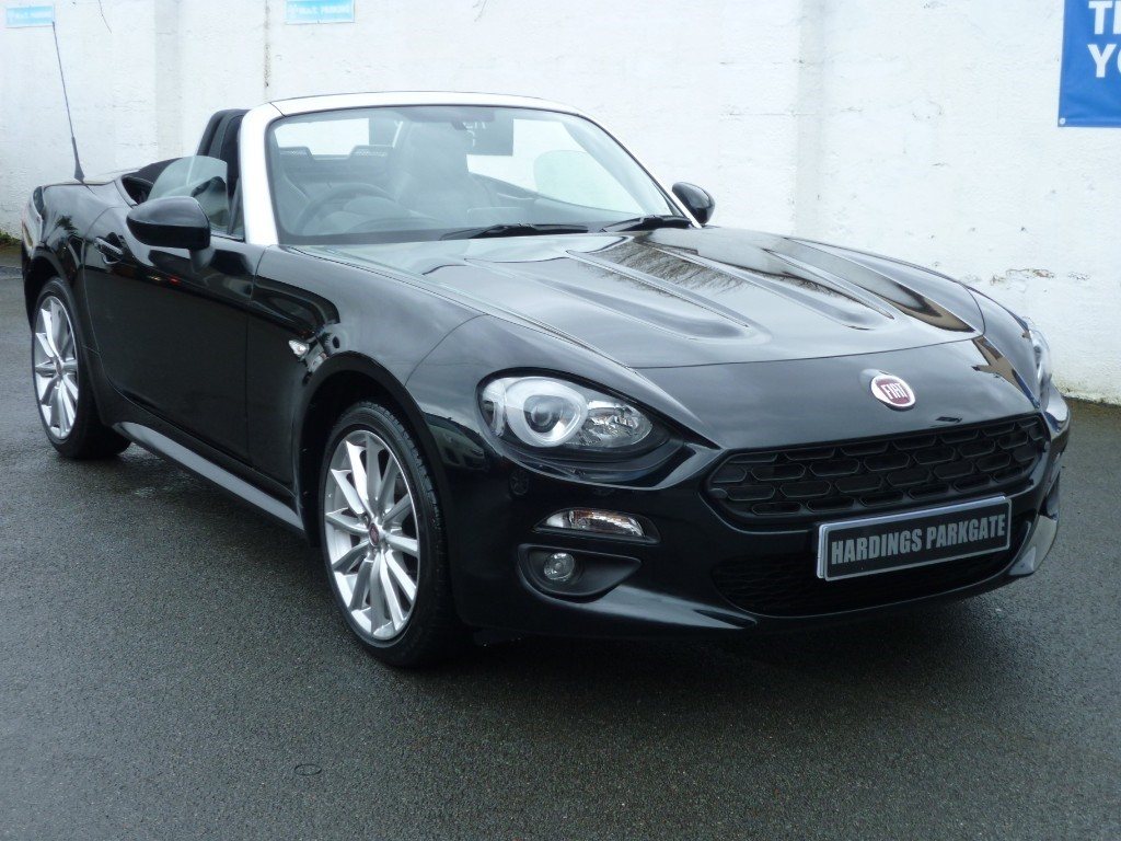 used Fiat 124 Spider SPIDER MULTIAIR LUSSO used cars in wirral-cheshire