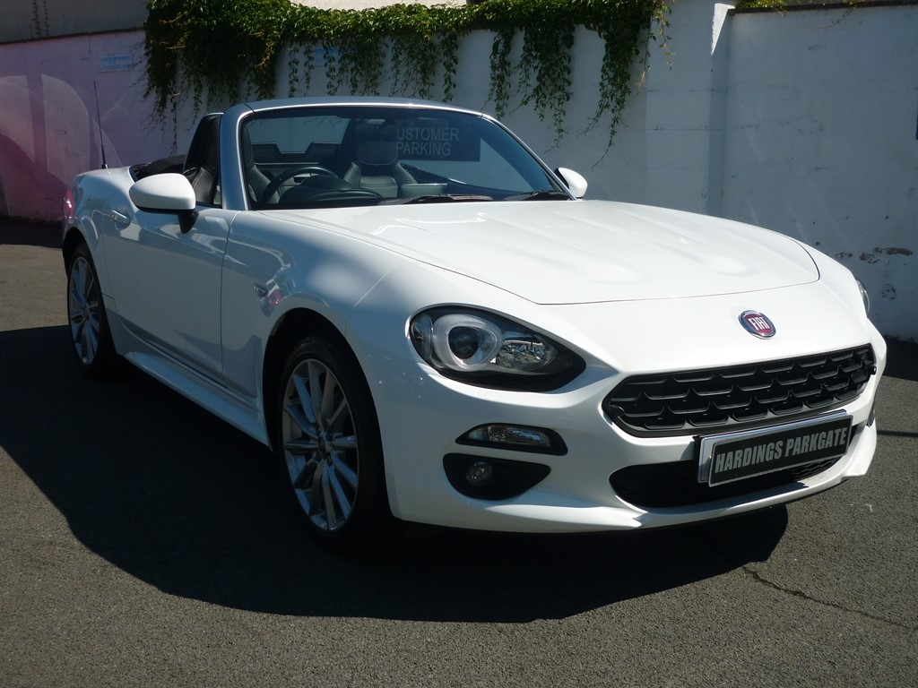 used Fiat 124 Spider SPIDER MULTIAIR LUSSO [NAV] 2 YEARS FREE SERVICING* used cars in wirral-cheshire