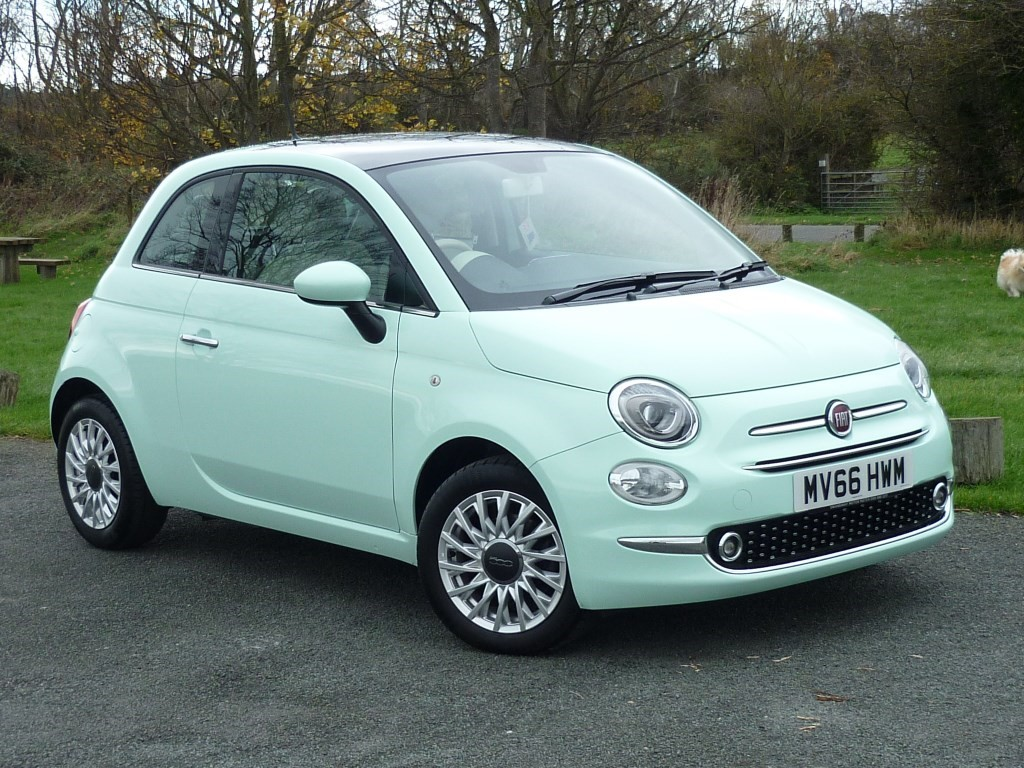 used smooth mint green fiat 500 for sale cheshire. Black Bedroom Furniture Sets. Home Design Ideas