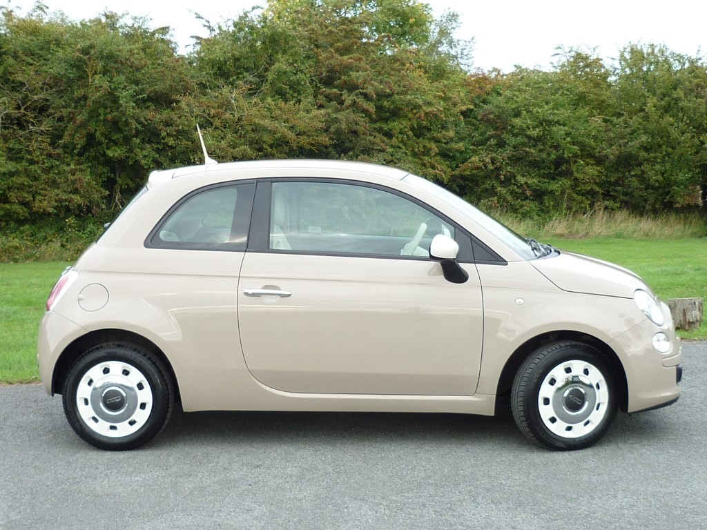 used beige fiat 500 for sale cheshire. Black Bedroom Furniture Sets. Home Design Ideas