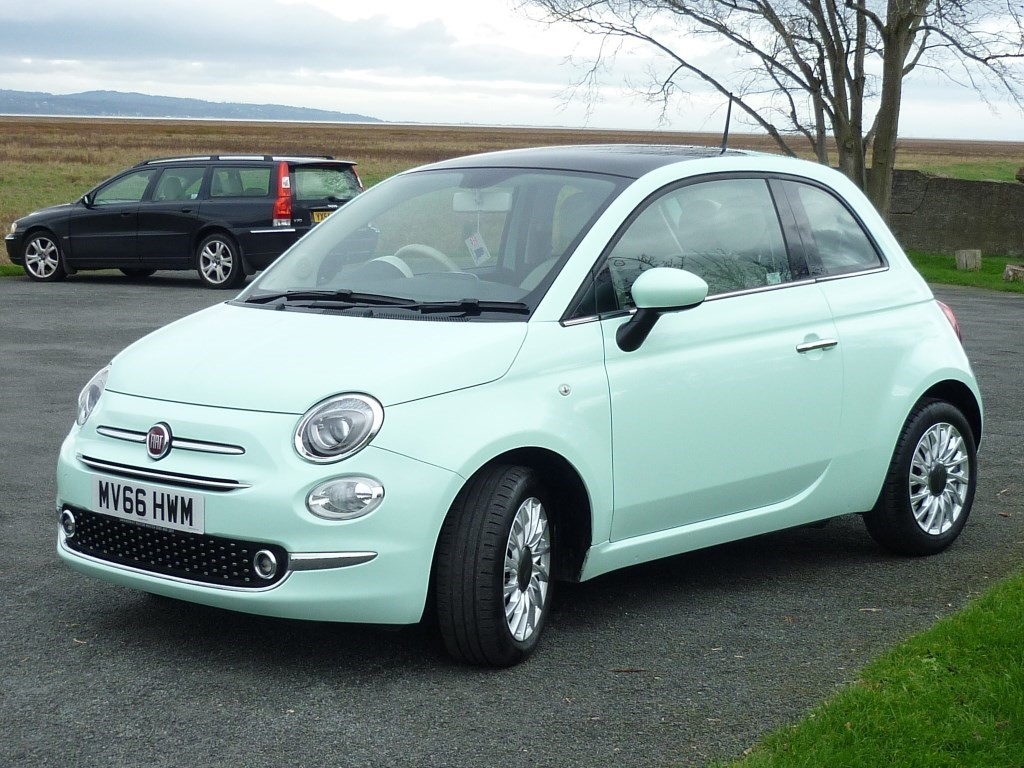 Used Smooth Mint Green Fiat 500 for Sale | Cheshire