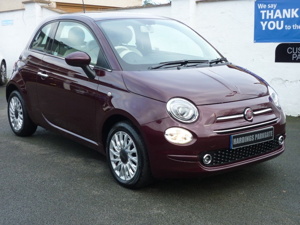 used Fiat 500 LOUNGE DUALOGIC AUTO WITH 2 YEARS FREE SERVICING* used cars in wirral-cheshire
