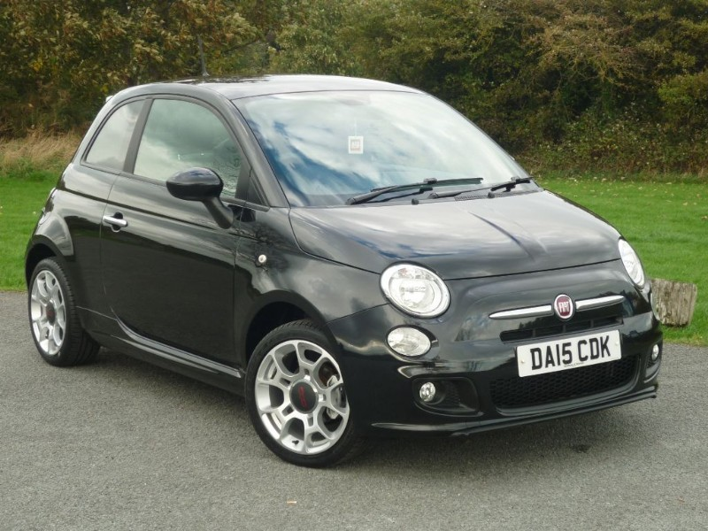 used Fiat 500 S DUALOGIC in wirral-cheshire