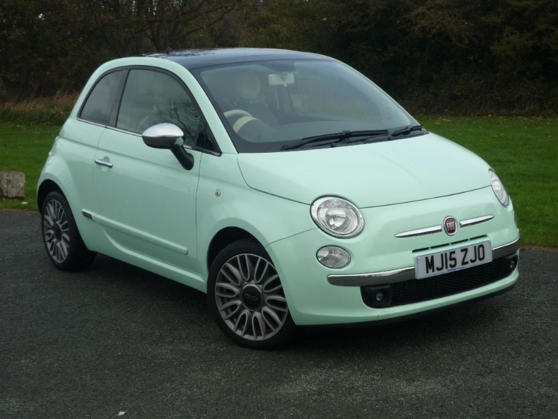 used Fiat 500 TWINAIR CULT in wirral-cheshire