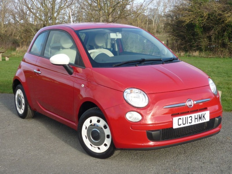 used Fiat 500 COLOUR THERAPY in wirral-cheshire