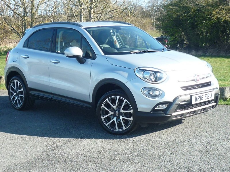 used Fiat 500X MULTIAIR CROSS PLUS WITH 1 YEAR FREE AA MEMBERSHIP* in wirral-cheshire