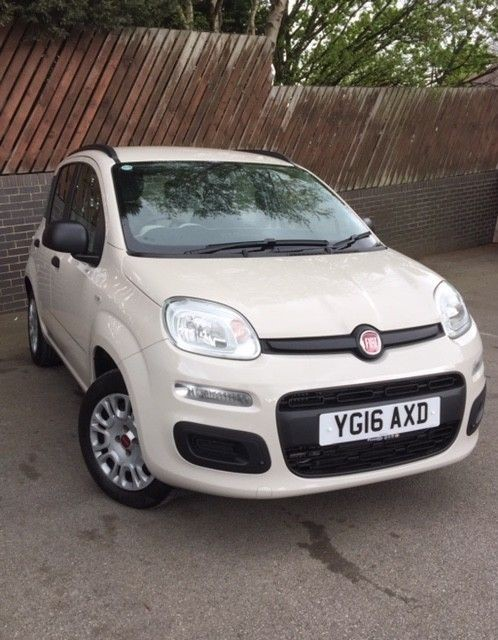 used Fiat Panda TWINAIR EASY DUALOGIC AUTO in wirral-cheshire