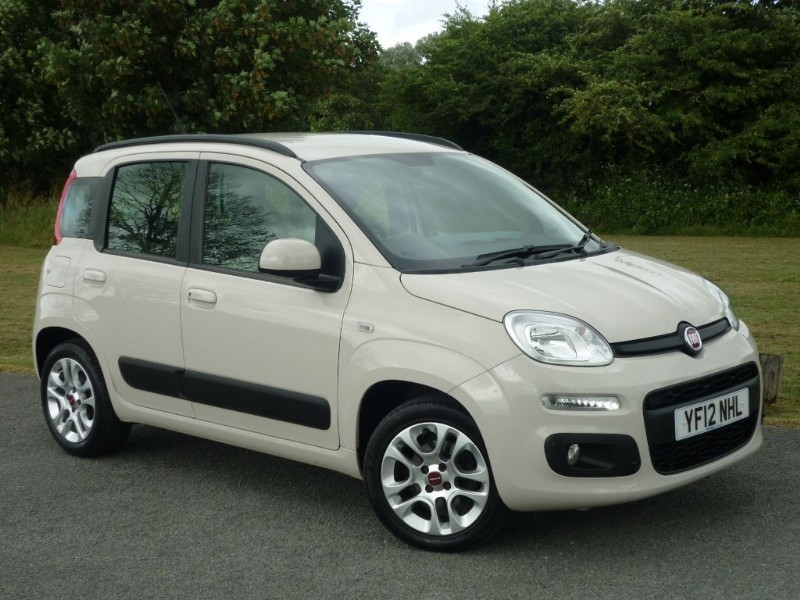 used Fiat Panda LOUNGE in wirral-cheshire