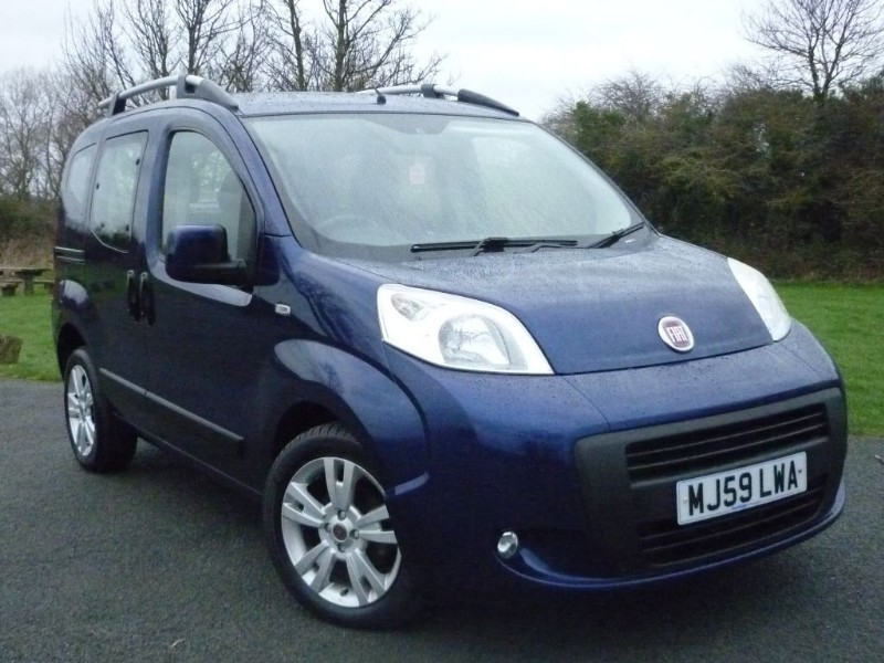used Fiat Qubo MULTIJET DYNAMIC DUALOGIC AUTO in wirral-cheshire