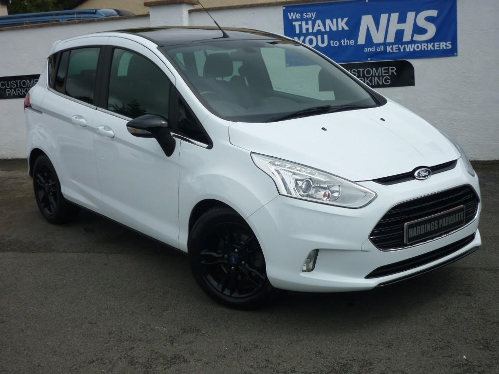 used Ford B-Max ZETEC WHITE EDITION WITH 2 YEARS FREE SERVICING* used cars in wirral-cheshire