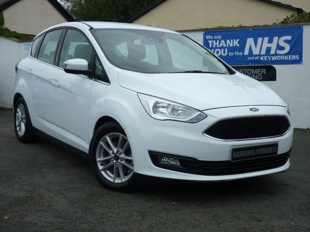 used Ford C-Max ZETEC POWERSHIFT AUTO + NAV BALANCE OF FORD WARRANTY used cars in wirral-cheshire
