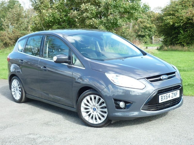 used Ford C-Max TITANIUM TDCI AUTO WITH 1 YEAR FREE AA MEMBERSHIP** in wirral-cheshire