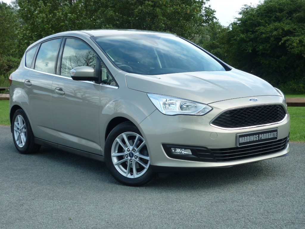 used Ford C-Max ZETEC TDCI NAVIGATION in wirral-cheshire