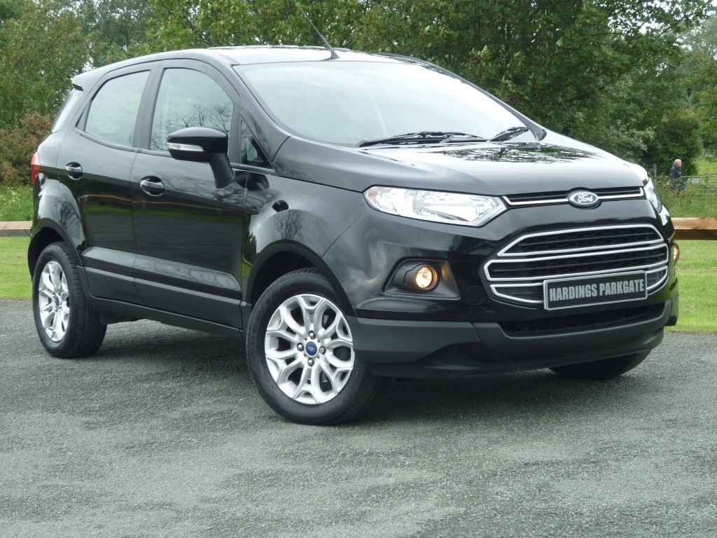 used Ford EcoSport ZETEC TDCI in wirral-cheshire