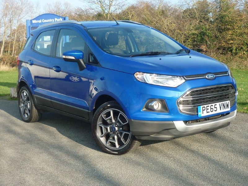 used Ford EcoSport TITANIUM TDCI in wirral-cheshire
