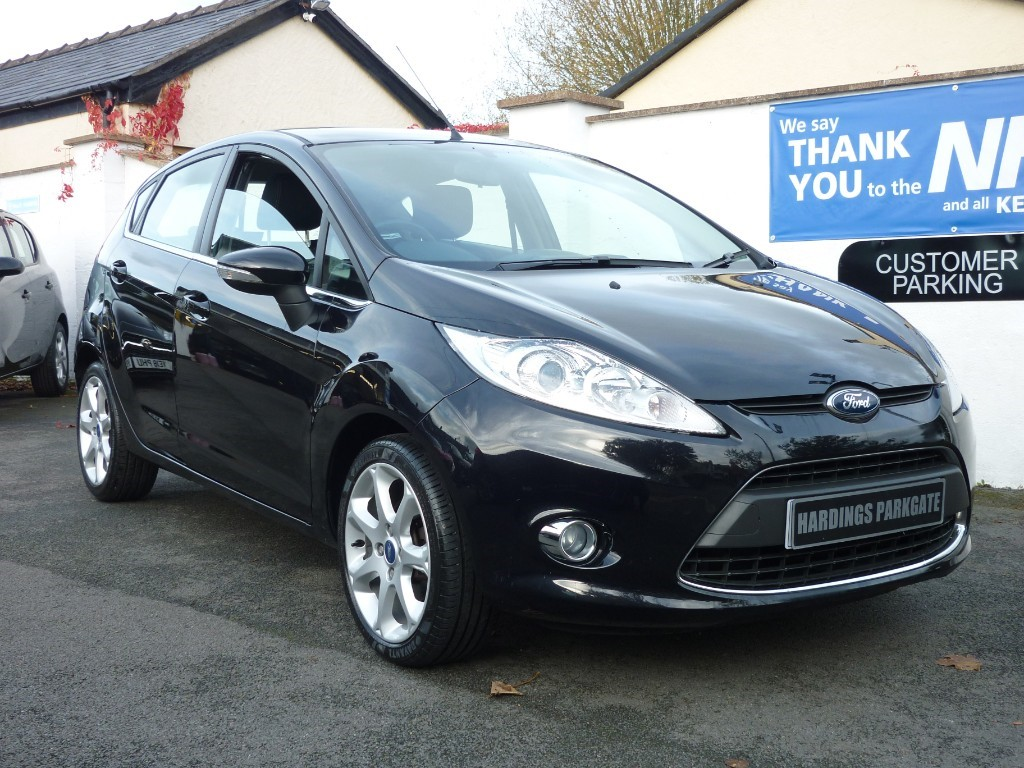 used Ford Fiesta ZETEC AUTO used cars in wirral-cheshire