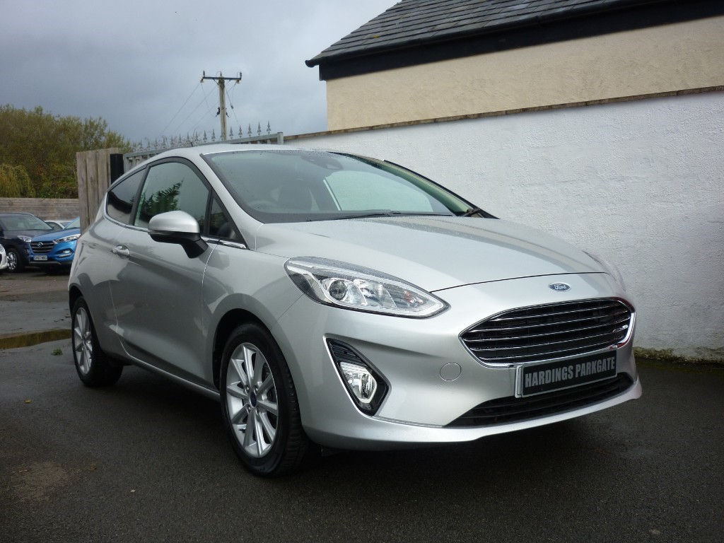 used Ford Fiesta TITANIUM NAV AUTO WITH 2 YEARS FREE SERVICING* used cars in wirral-cheshire