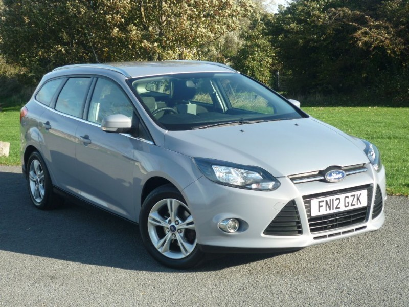 used Ford Focus ZETEC ESTATE in wirral-cheshire