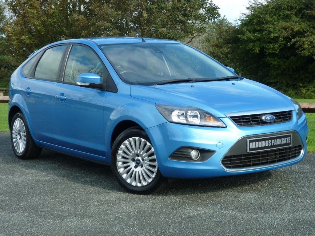 used Ford Focus TITANIUM in wirral-cheshire