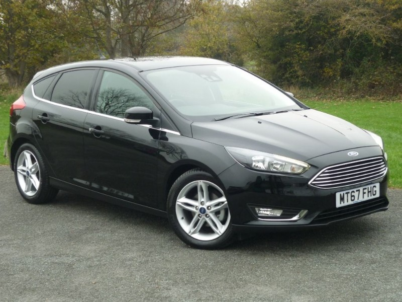 used Ford Focus TITANIUM TDCI NAVIGATOR [APPEARANCE PACK] in wirral-cheshire