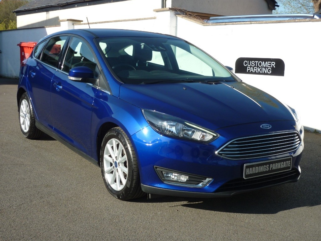 used Ford Focus TITANIUM NAV AUTO used cars in wirral-cheshire